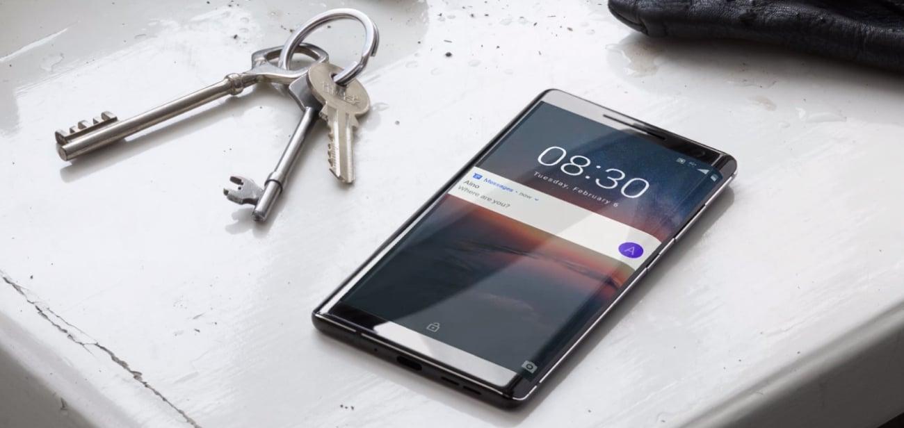 Nokia 8 Sirocco ośmiordzeniowy procesor snapdragon 835 ładowanie indukcyjne