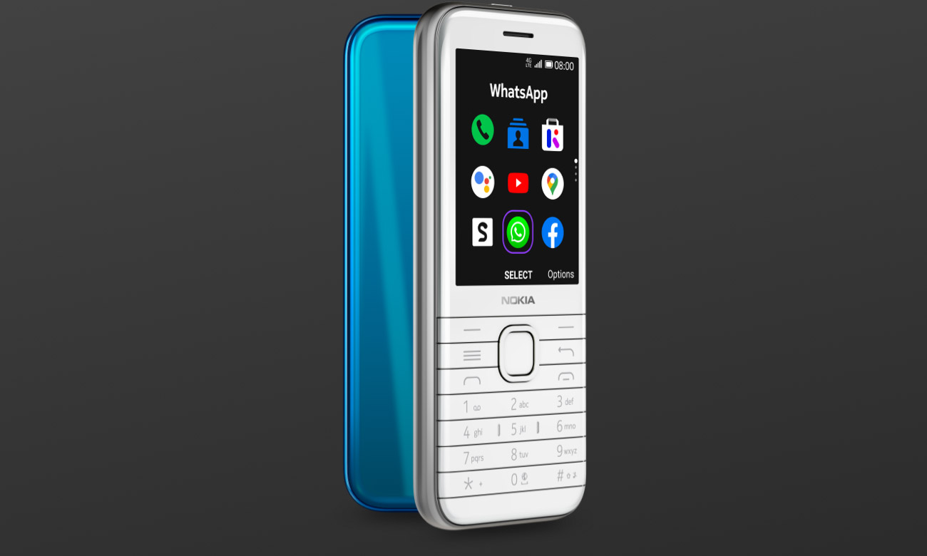 Technologia 4G w Nokia 8000 4G