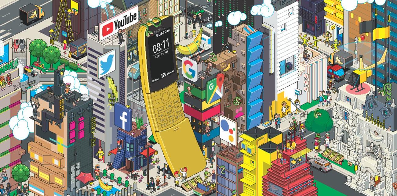 Nokia 8110 synchronizacja KaiOS