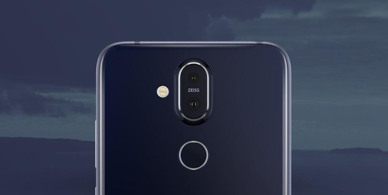 Nokia 8.1 podwójny aparat 12 + 13 Zeiss AI