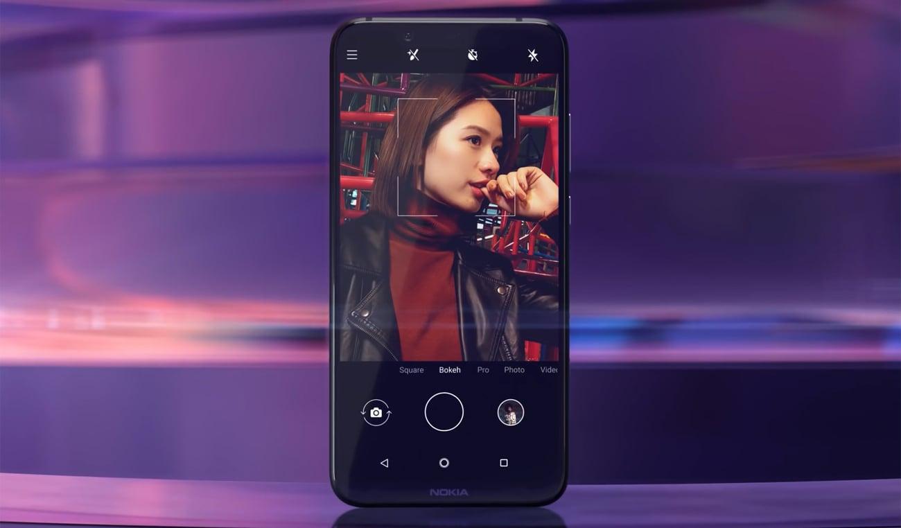 Nokia 8.1 funkcje aparatu 20 mpix