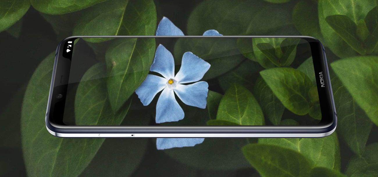 Nokia 8.1 panoramiczny ekran puredisplay