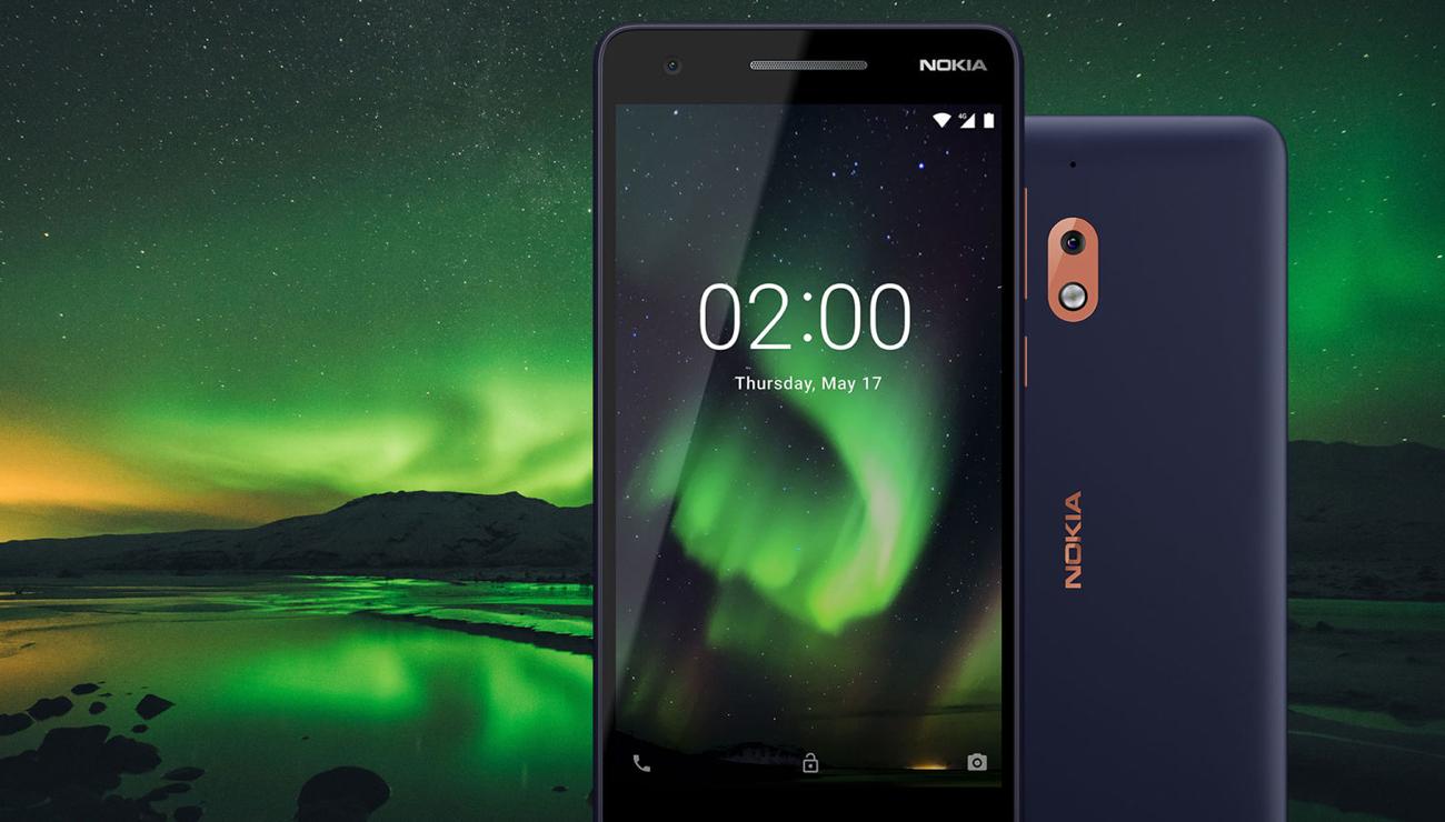 Nokia 2.1 atrakcyjny design metalowa konstrukcja
