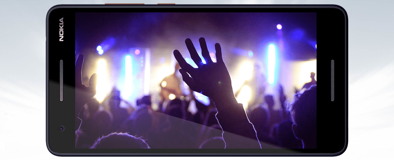 Nokia 2.1 panoramiczny ekran
