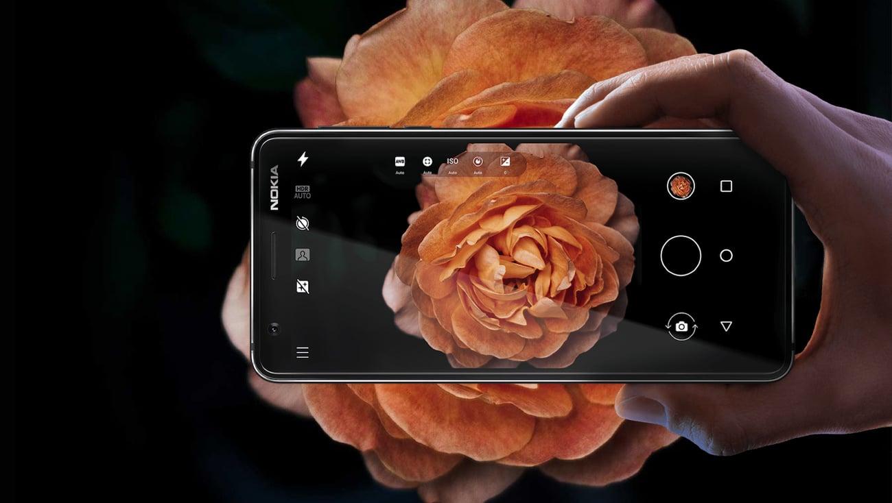 Nokia 3.1 aprat 13 mpix autofocus