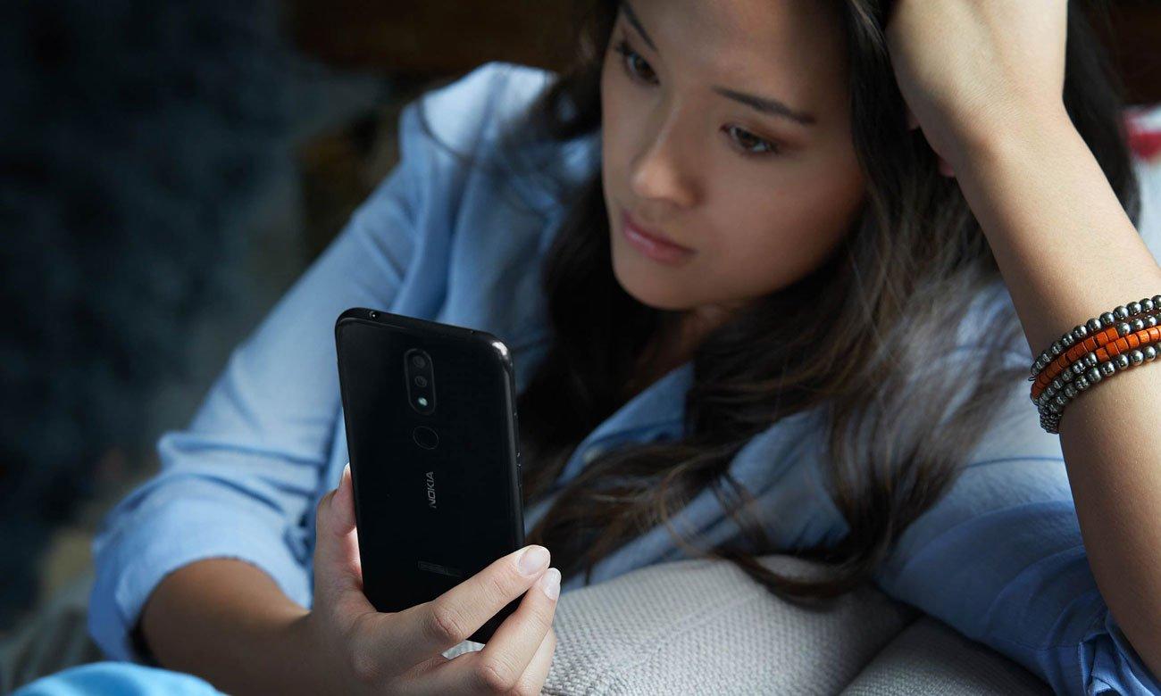 Nokia 4.2 panoramiczny ekran skaner twarzy
