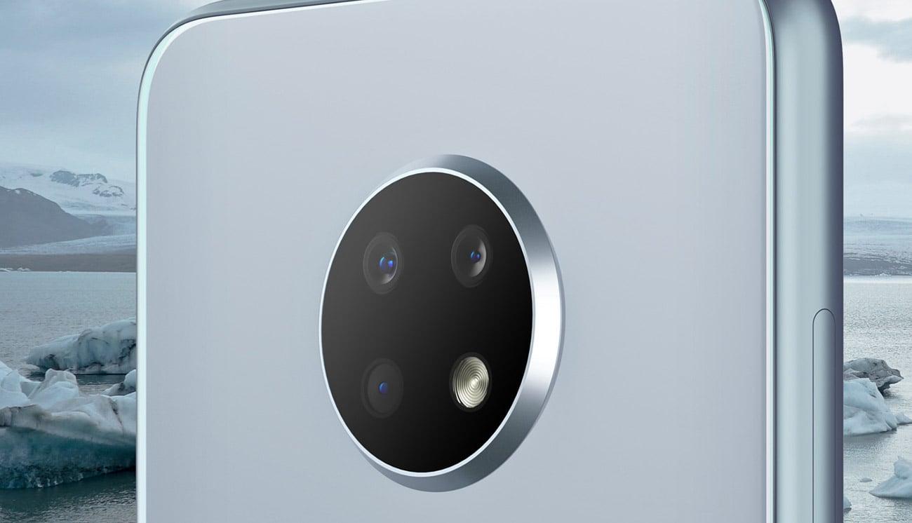 Nokia 6.2 potrójny aparat panorama bokeh AI