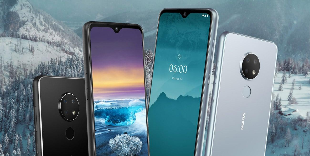 Nokia 6.2 panoramiczny ekran puredisplay