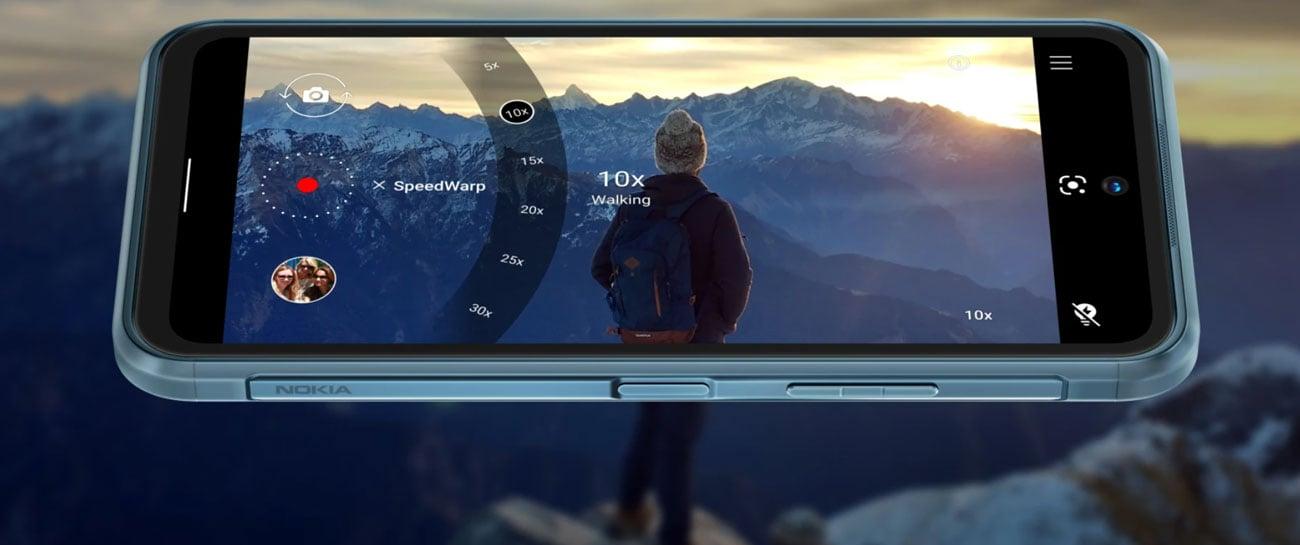 Nokia XR2 ekran i funkcja SpeedWarp