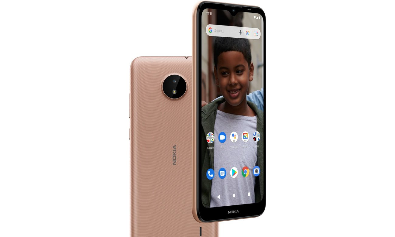 Nokia C20 ekran