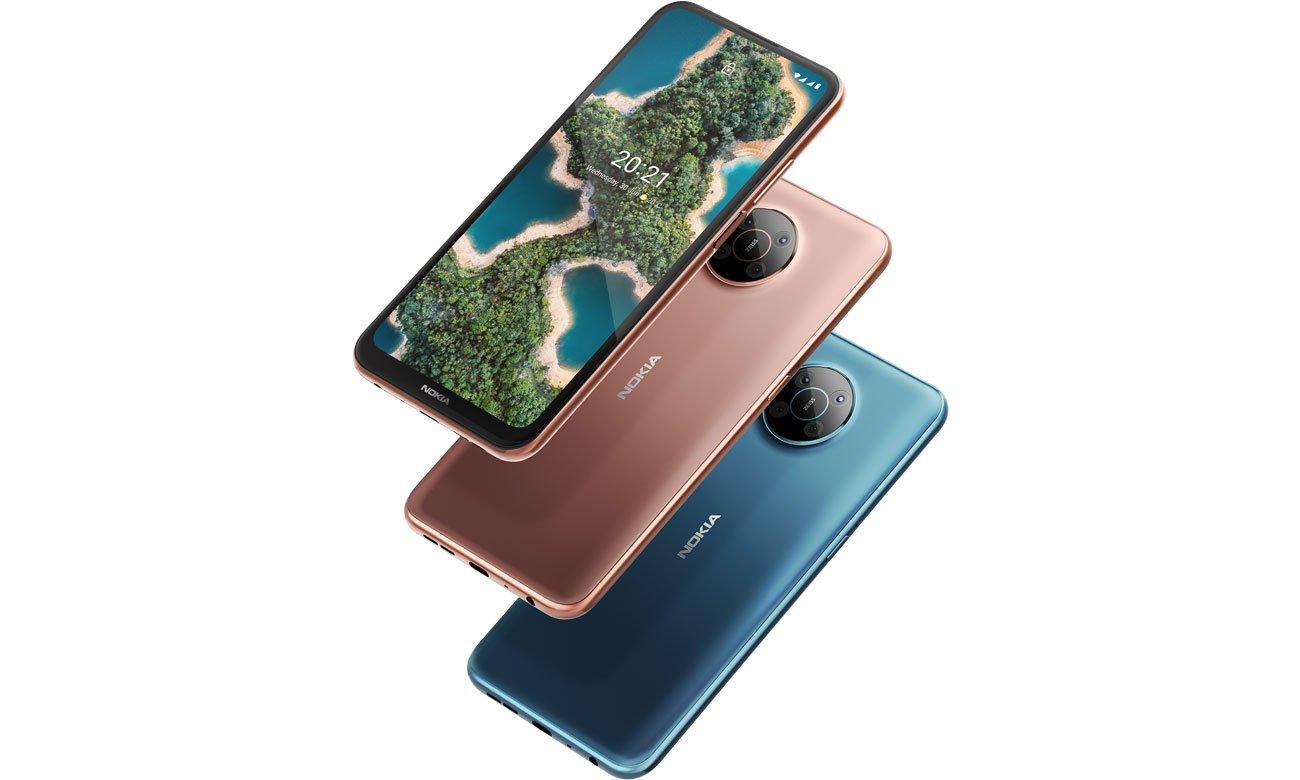 Smartfon Nokia X20 Dual SIM 128 GB 5G wyświetlacz i aparat