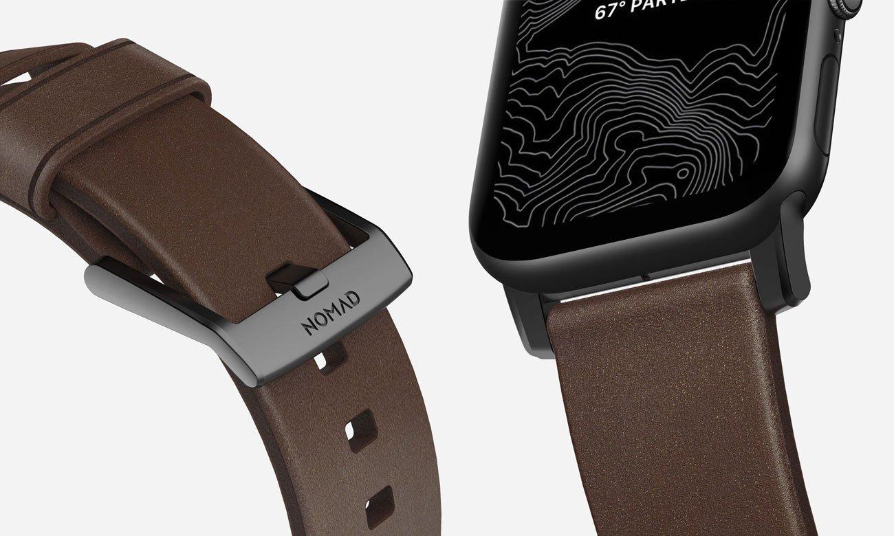 Pasek Nomad do Apple Watch - Metalowe zapięcie