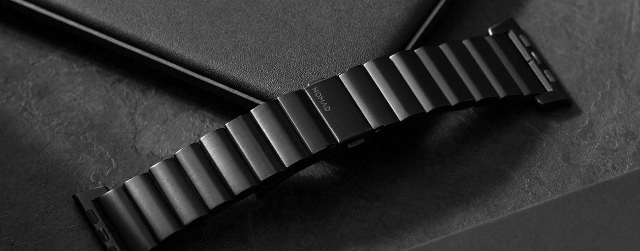 Bransoleta Tytanowa Nomad do Apple Watch - Regulacja