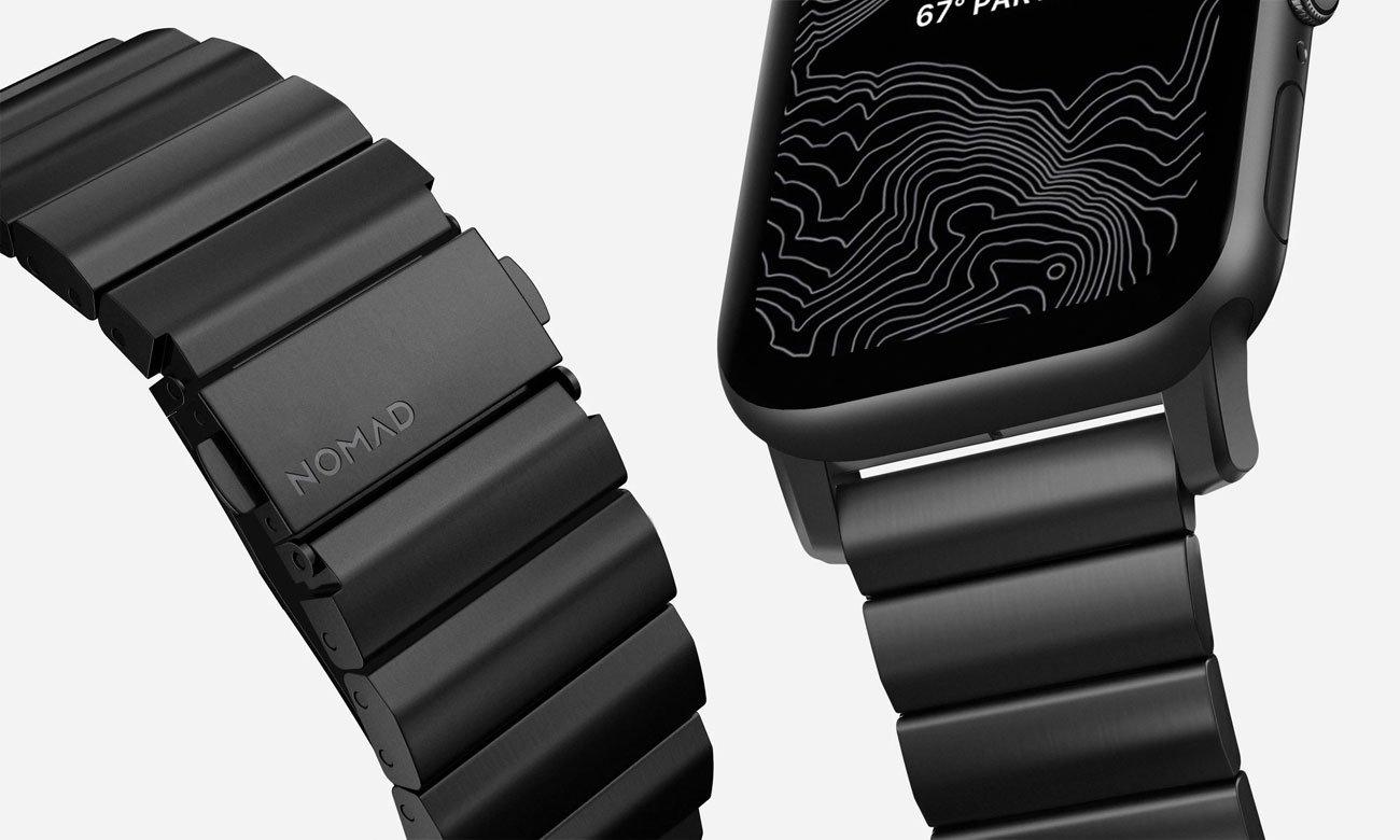 Bransoleta Tytanowa Nomad do Apple Watch - Zapięcie