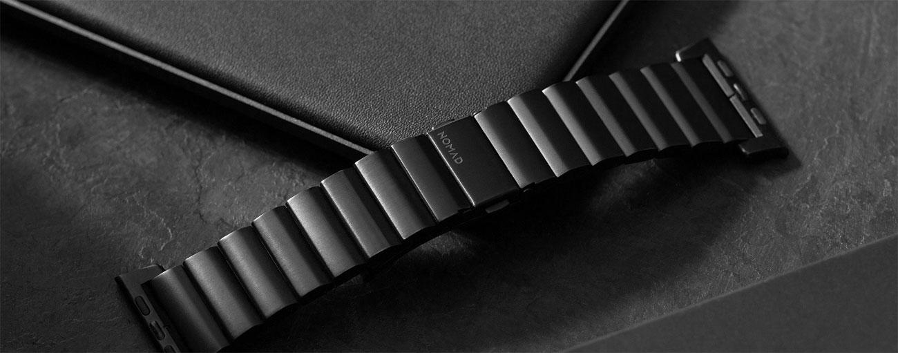 Bransoleta Stalowa Nomad do Apple Watch - Regulacja