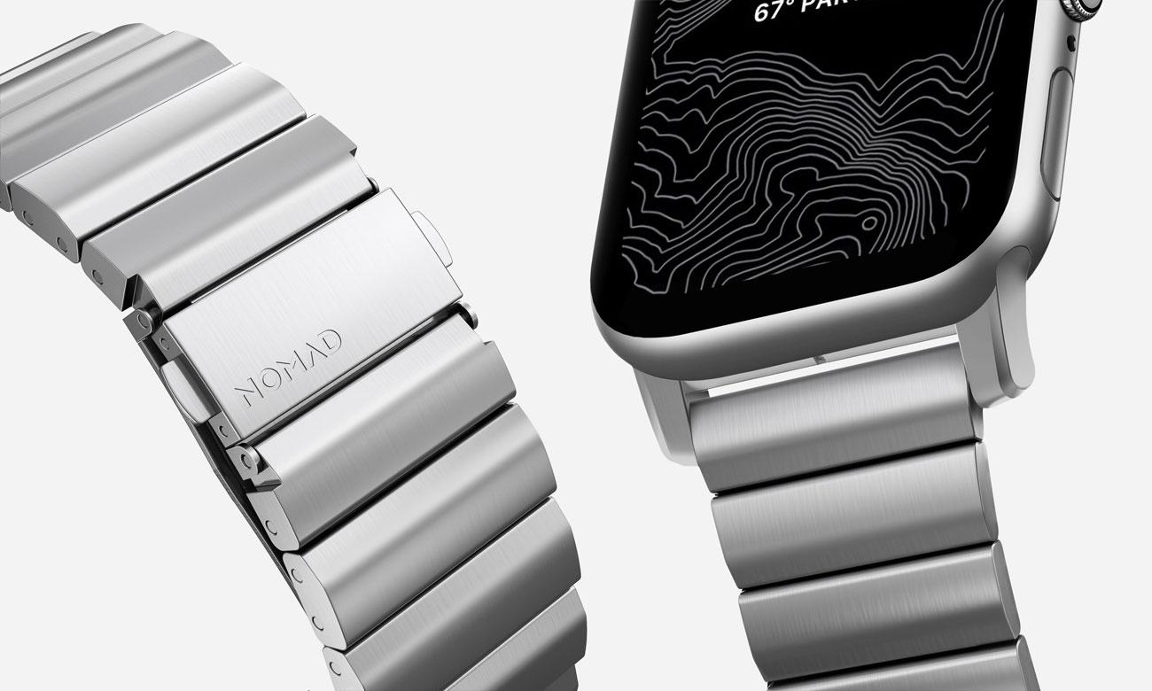 Bransoleta Stalowa Nomad do Apple Watch - Zapięcie
