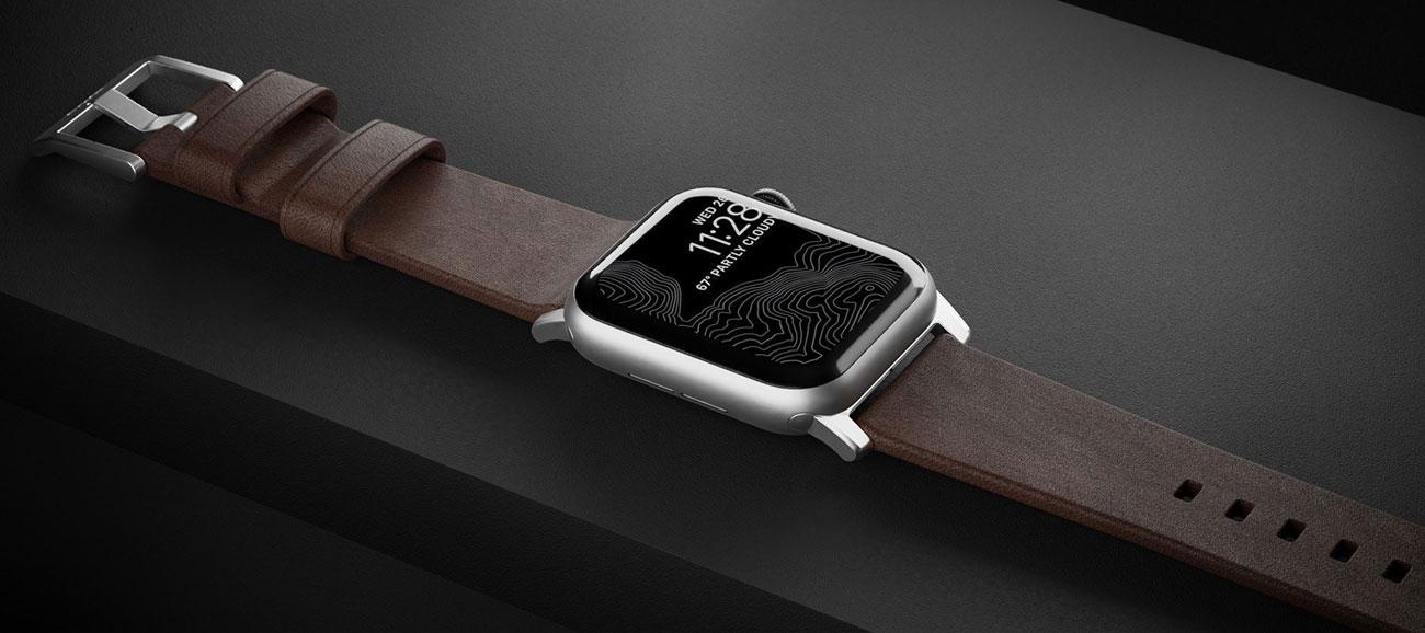 Pasek Nomad do Apple Watch - Naturalna skóra
