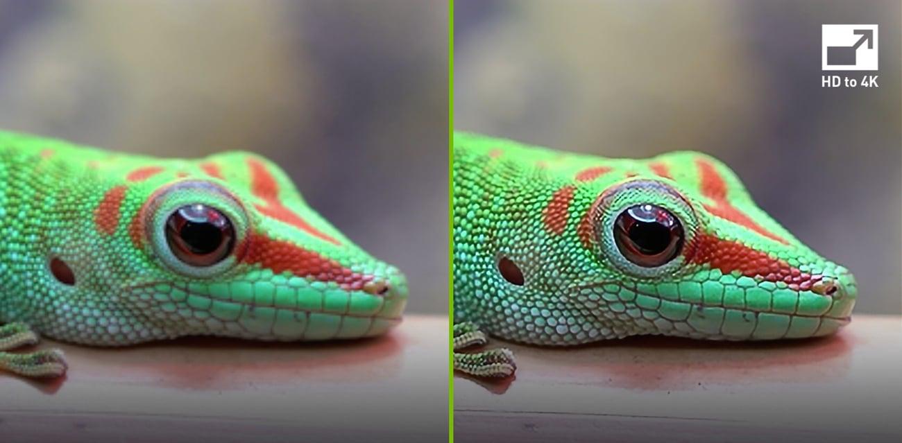 Inteligentne skalowanie obrazu do 4K