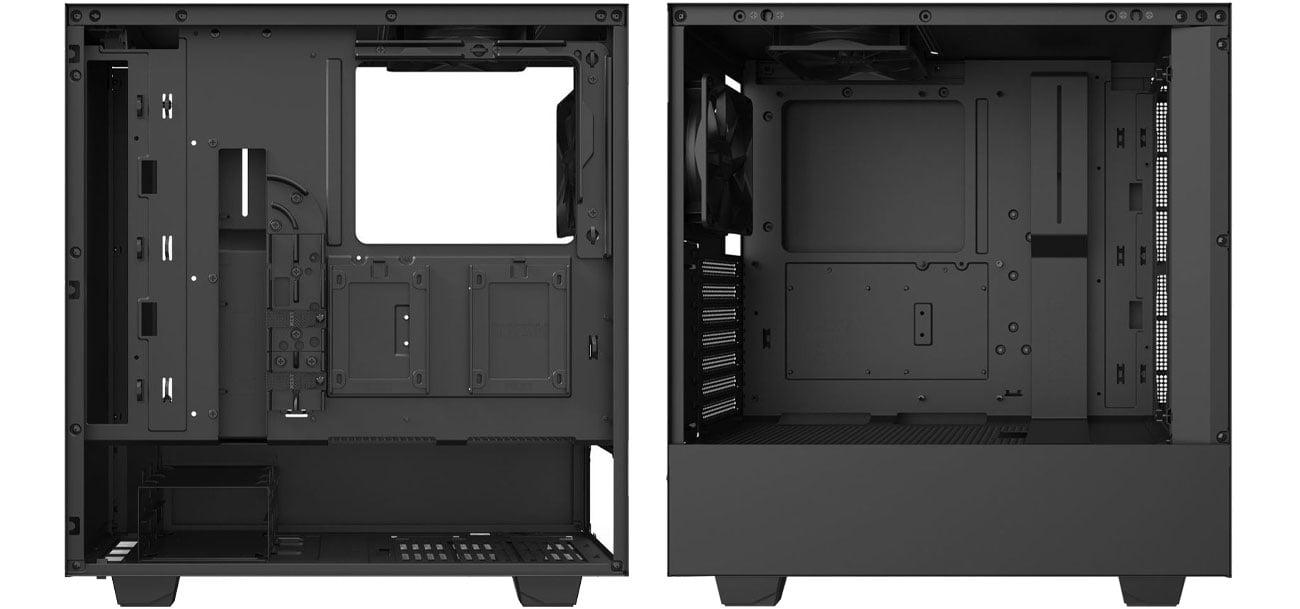 NZXT H510 Black - Wnętrze