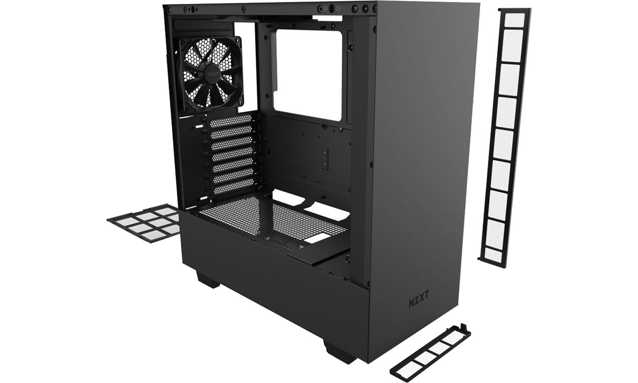 NZXT H510 Black - Chłodzenie