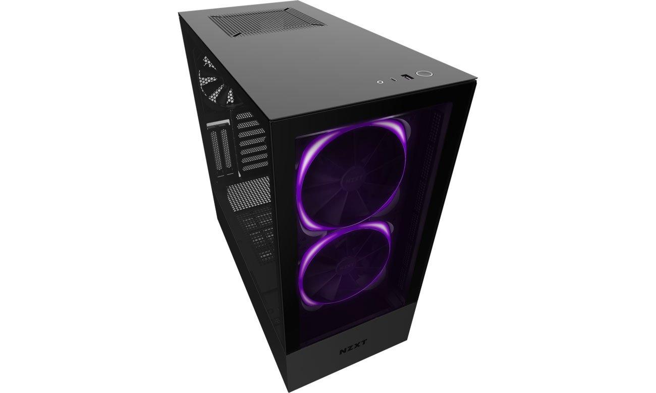 Obudowa do komputera NZXT H510 Elite Black CA-H510E-B1