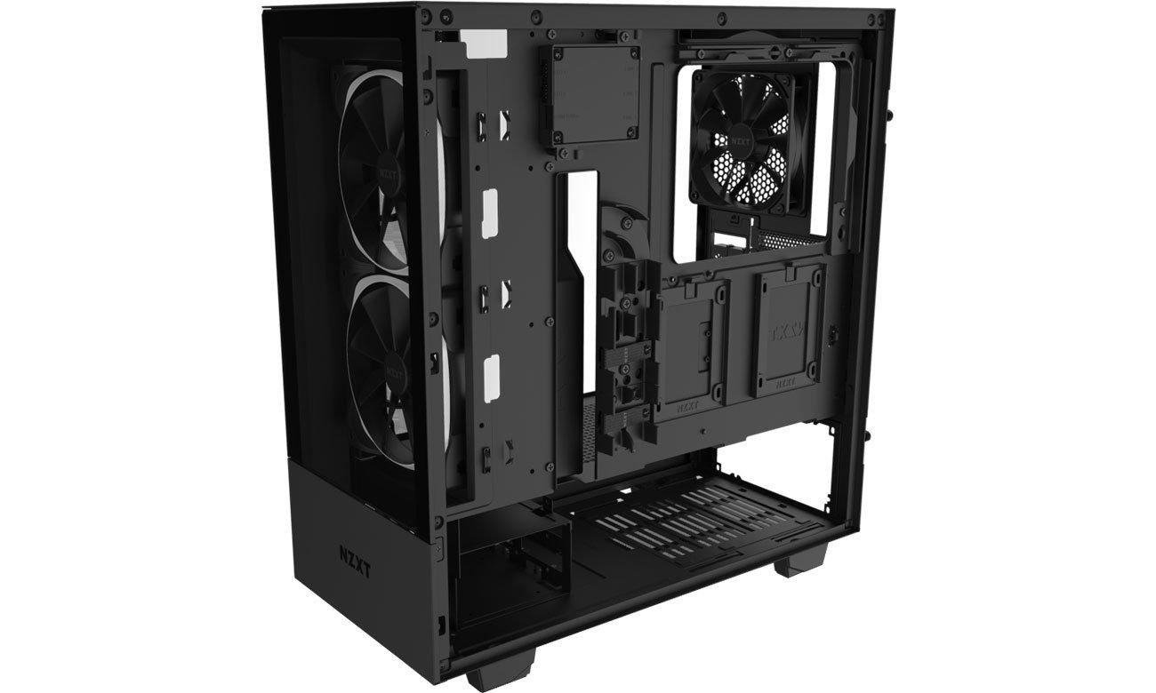NZXT H510 Elite Black - Wnętrze