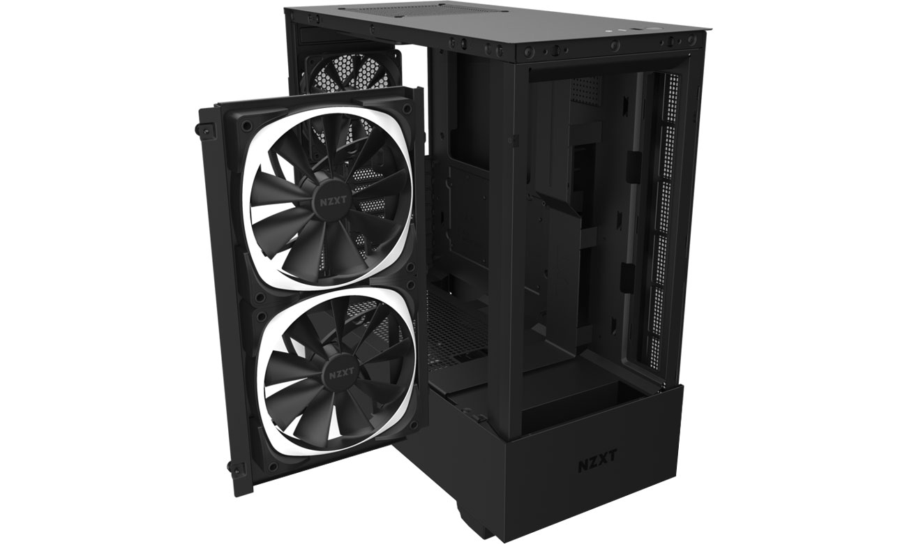 NZXT H510 Elite Black - Chłodzenie
