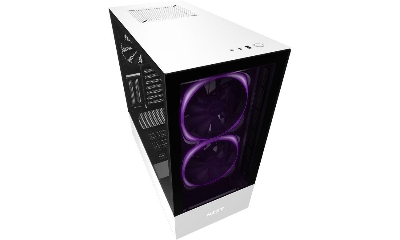 Obudowa do komputera NZXT H510 Elite White CA-H510E-B1
