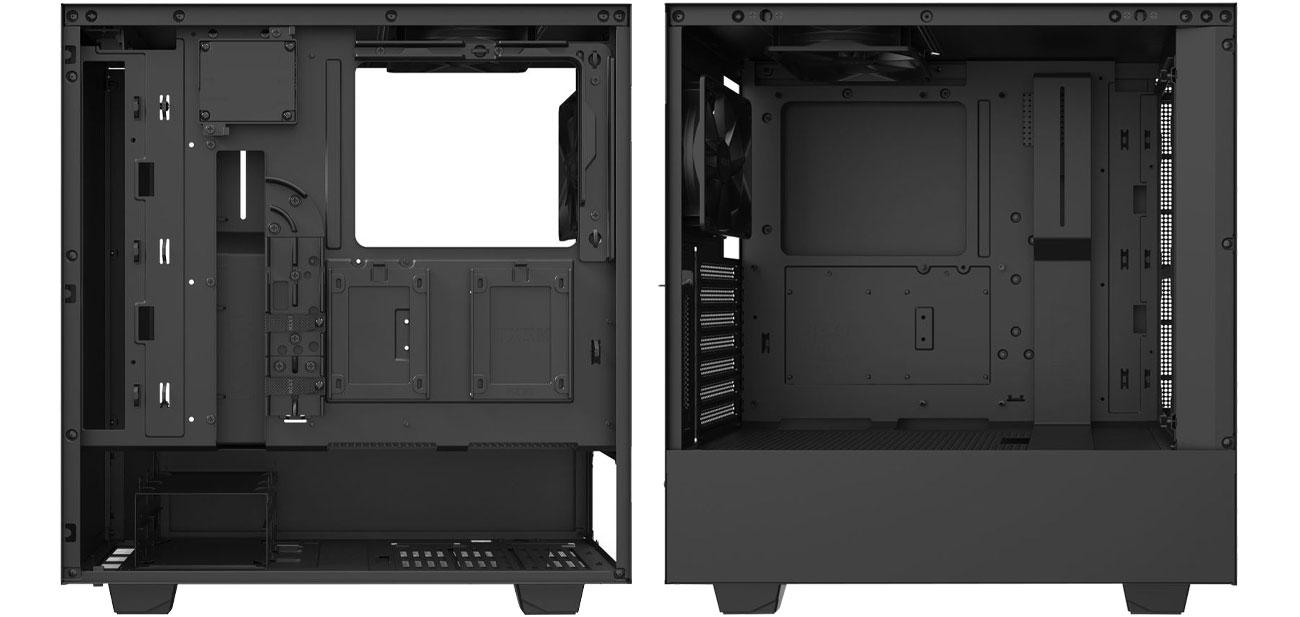 NZXT H510i Black - Wnętrze