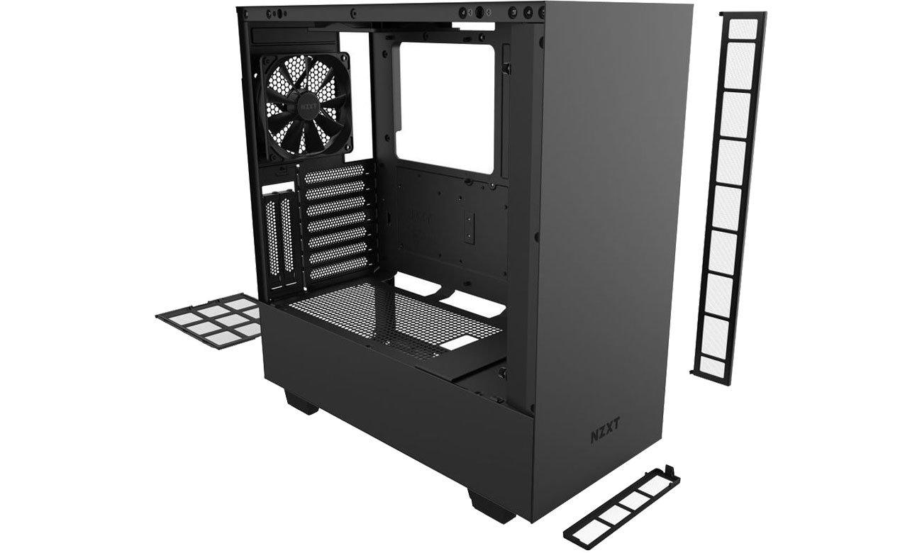 NZXT H510i Black - Chłodzenie