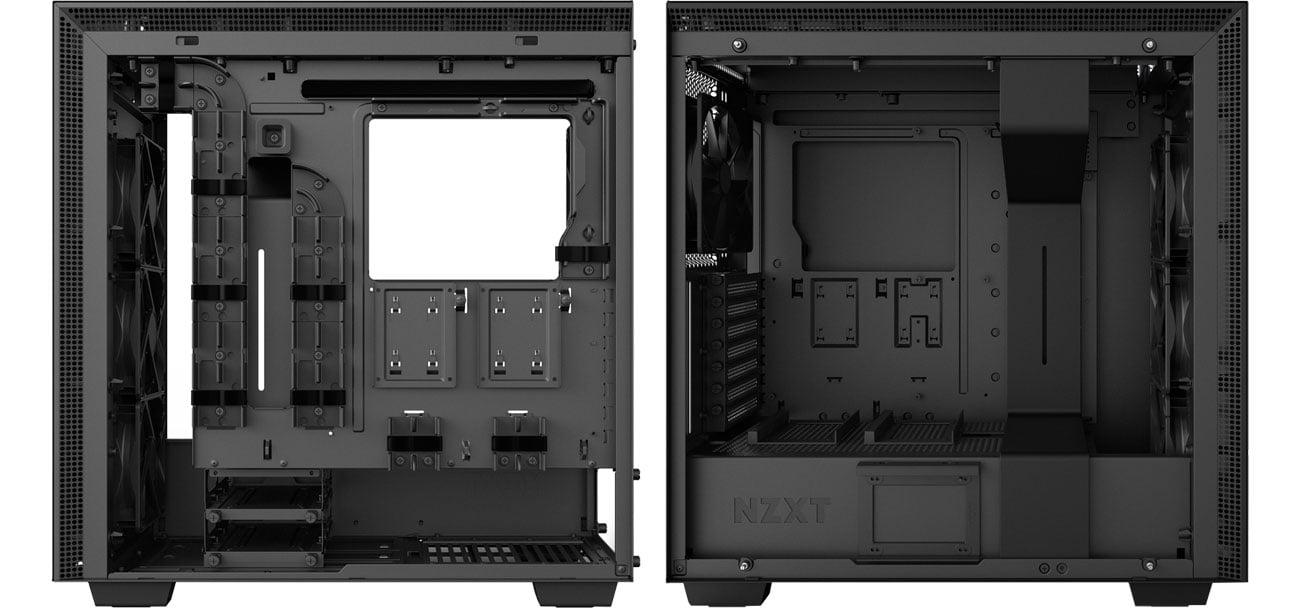 NZXT H700i CA-H700W-BB Wnętrze