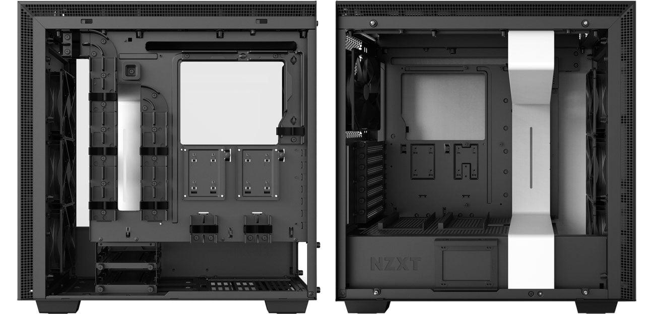 NZXT H700i CA-H700W-WB Wnętrze