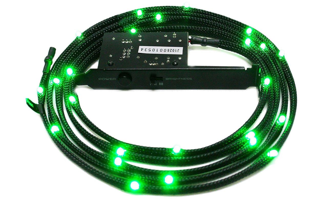 Zestaw oświetlający LED zielony NZXT CB-LED10-GR