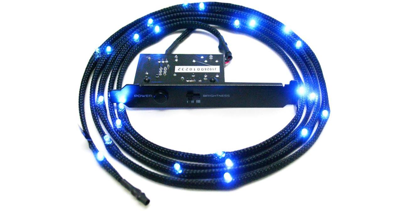 Zestaw oświetlający LED niebieski 2m CB-LED20-BU