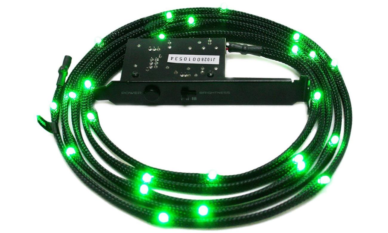 Zestaw oświetlający LED zielony 2m CB-LED20-GR