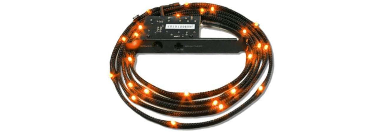 Zestaw oświetlający LED pomarańczowy 2m CB-LED20-OR