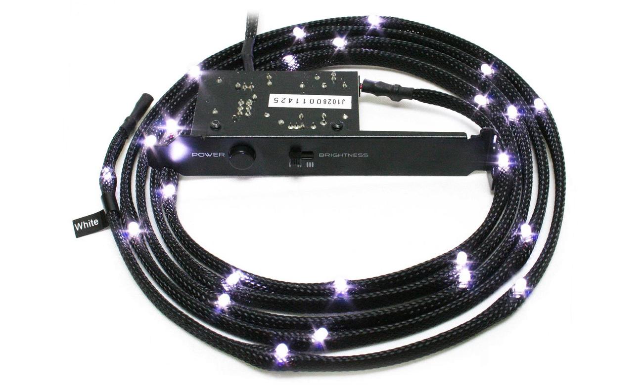 Zestaw oświetlający LED biały 2m CB-LED20-WT