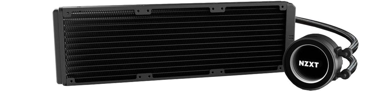 NZXT Kraken X72 Wydajna pompa i 360 mm radiator