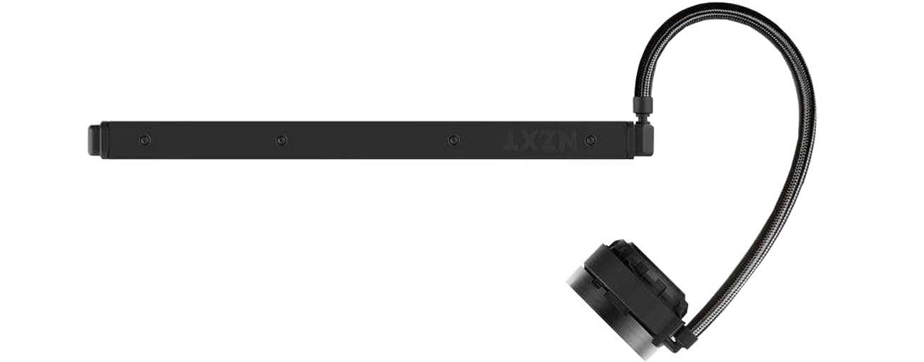 NZXT Kraken X72 Miedziano-aluminiowa konstrukcja