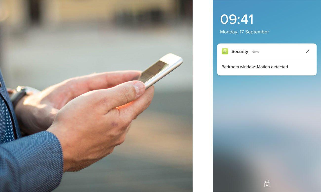 Netatmo Welcome Tags - Aplikacja, powiadomienia