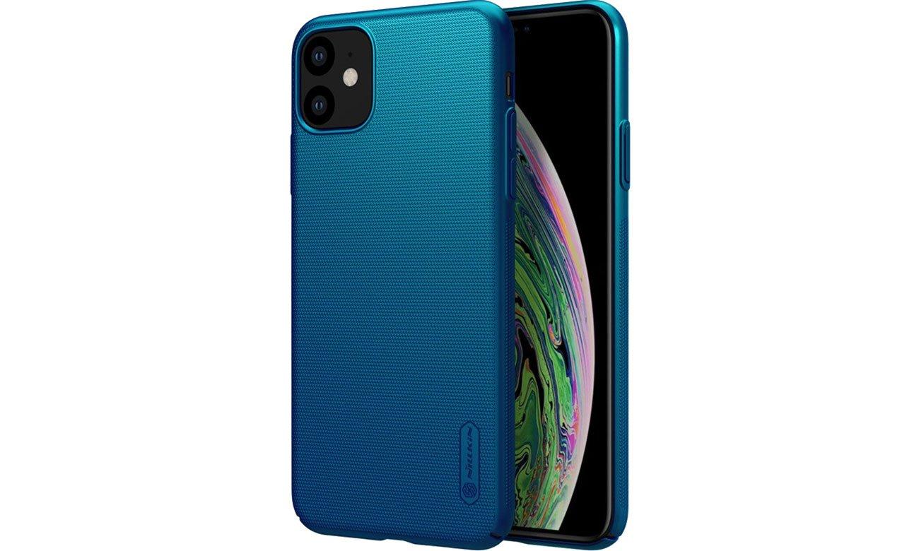 Super Frosted Shield do iPhone 11 niebieski