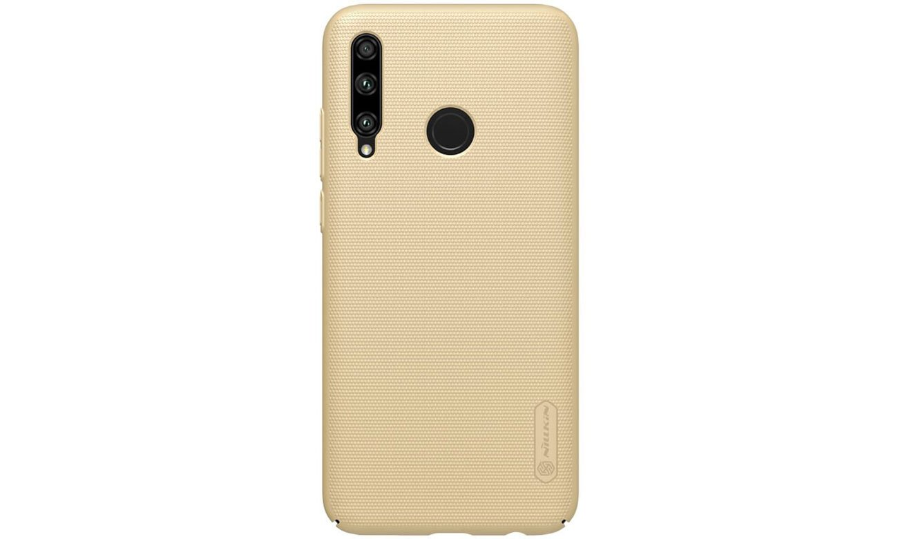 Etui Nillkin Super Frosted Shield Gold do Honor 20 Lite