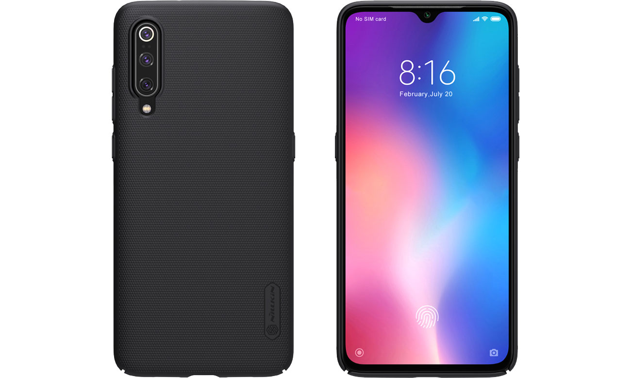 Super Frosted Shield do Xiaomi Mi 9 czarny