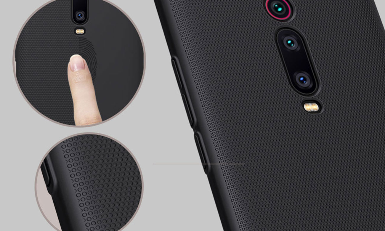 Etui Nillkin Super Frosted Shield Black do Xiaomi Mi 9T/9T Pro