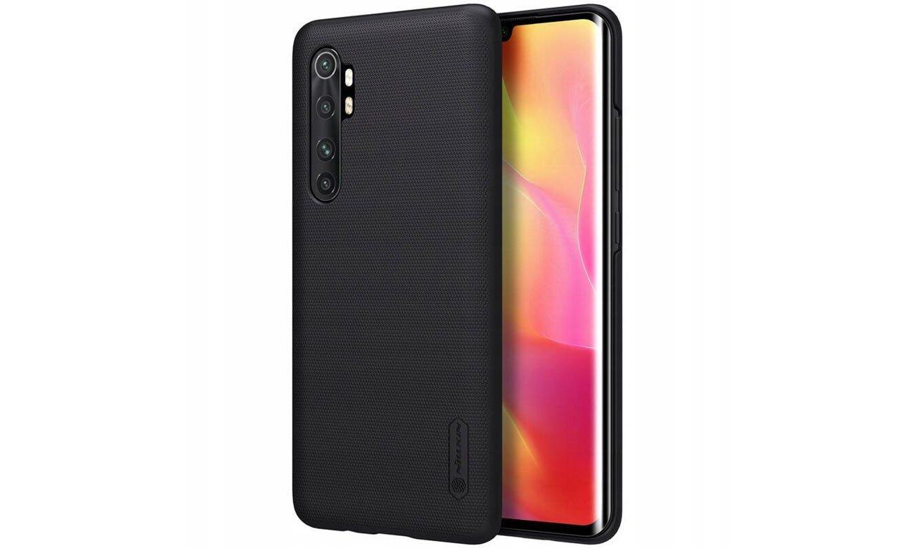Etui Nillkin Super Frosted Shield Black do Xiaomi Mi 10 Lite