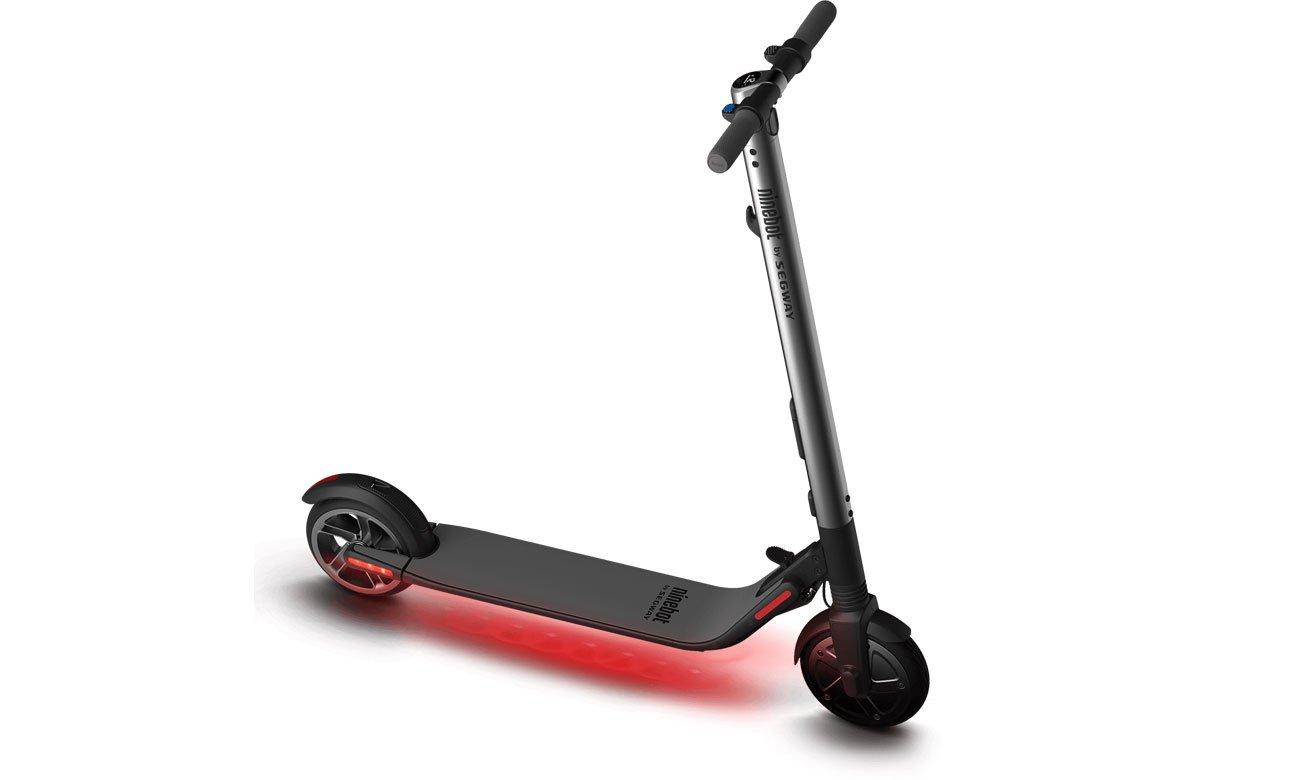 Ninebot by Segway KickScooter ES2 Bezpieczeństwo