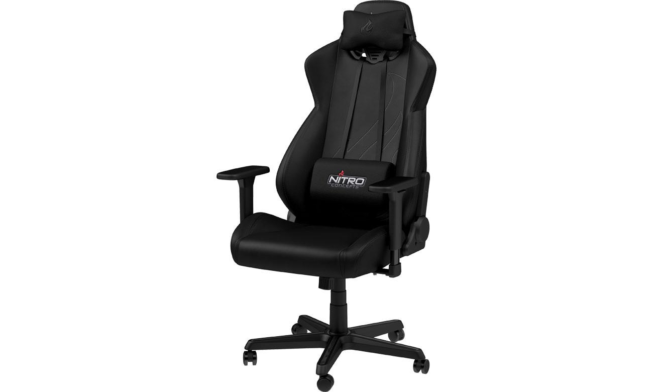 Fotel gamingowy Nitro Concepts S300 EX Gaming (Czarny) NC-S300EX-B