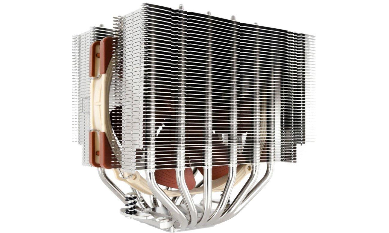 Chłodzenie procesora Noctua NH-D15S Widok z lewej