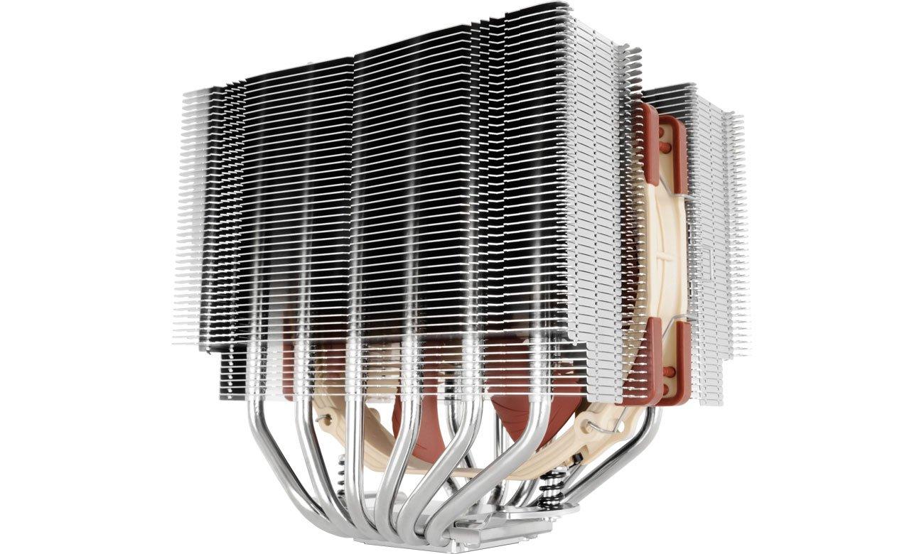Chłodzenie procesora Noctua NH-D15S Widok z prawej