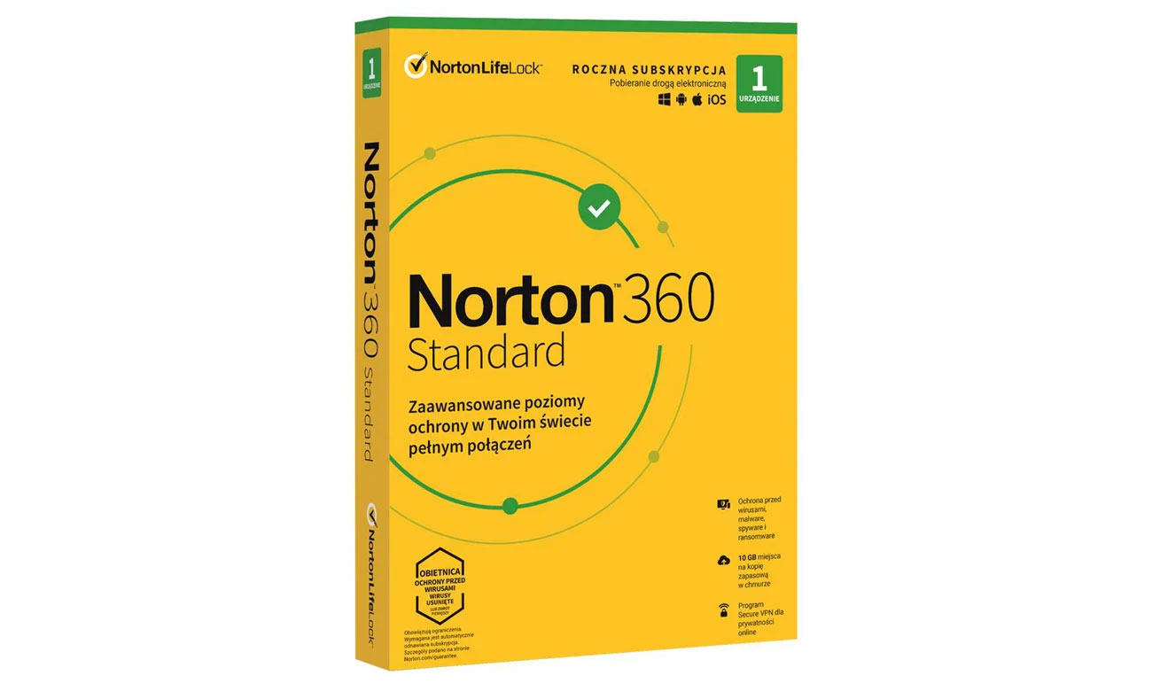 Program antywirusowy NortonLifeLock Norton